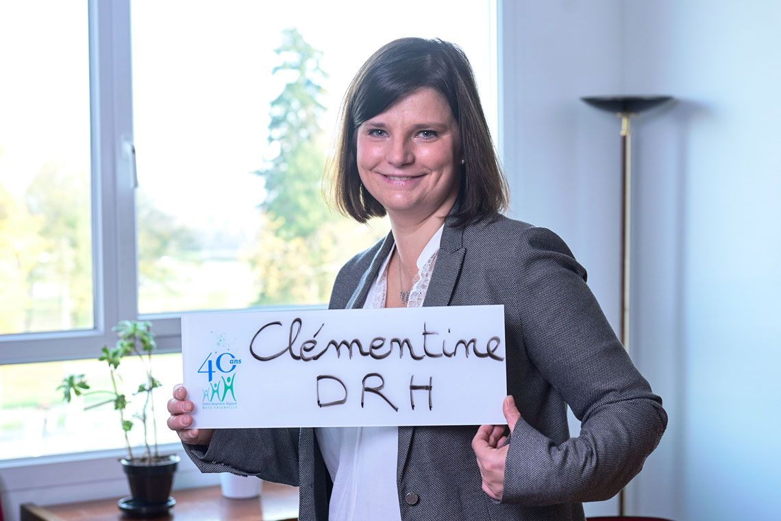 Clémentine Roth, Directrice des ressources humaines et des écoles au CHR Metz-Thionville