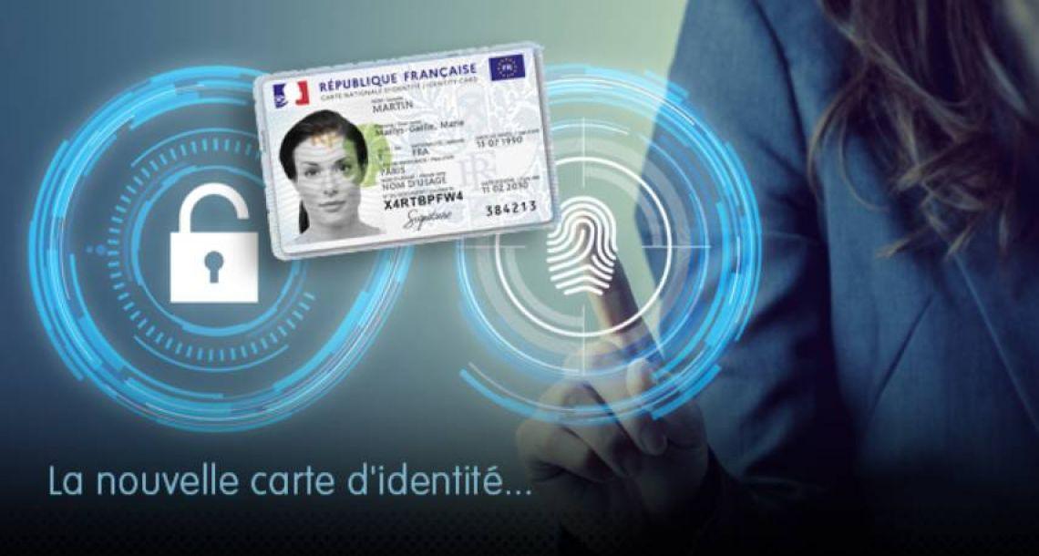 La nouvelle carte d'identité au format carte bancaire expérimentée dans l'Oise